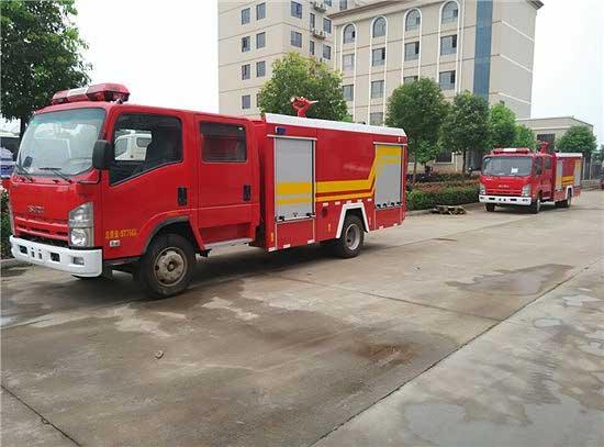 [推荐车型]3吨泡沫消防车_庆铃五十铃700P泡沫消防车图片 参数 首选车型