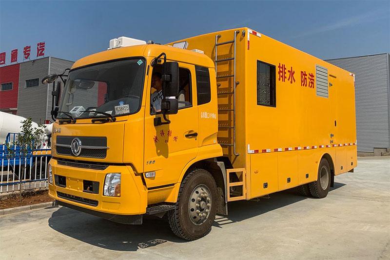 单排座救险车_东风天锦工程救险车图片_高品质