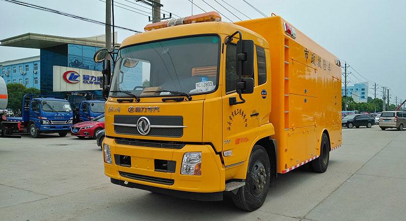 [推薦車型]天錦工程單排座搶修車全國質保_專業廠家