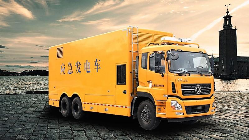 最新天龍800kw應急電源車最好_改裝廠_廠價直銷