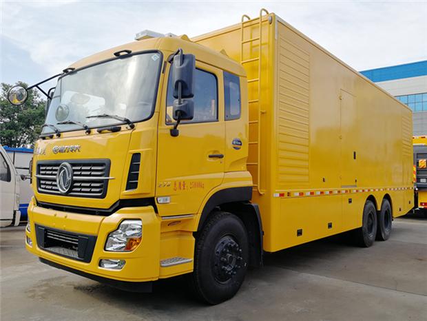 東風天龍700KW電力搶修車價格-報價-哪里賣