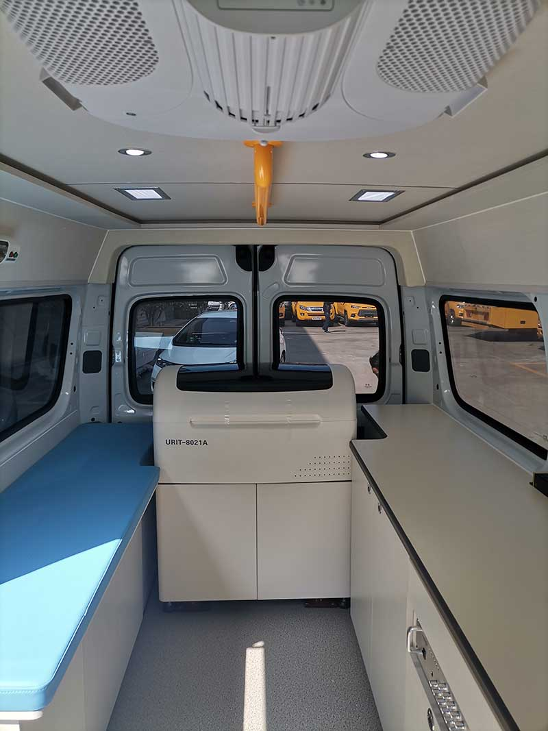 最新大通V80流動體檢多功能檢測車哪里買-推薦車型