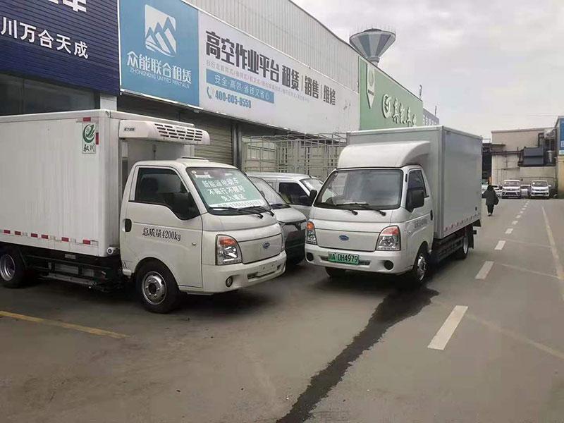 四川成都[推荐车型]南京金龙开沃K10纯电动封闭式货车货车哪里卖-首选车型