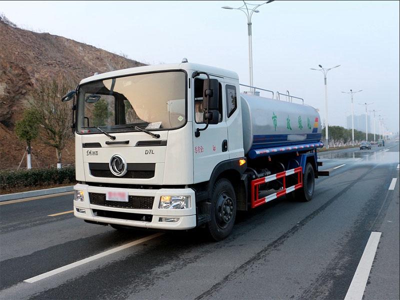 國五東風創普15噸灑水車