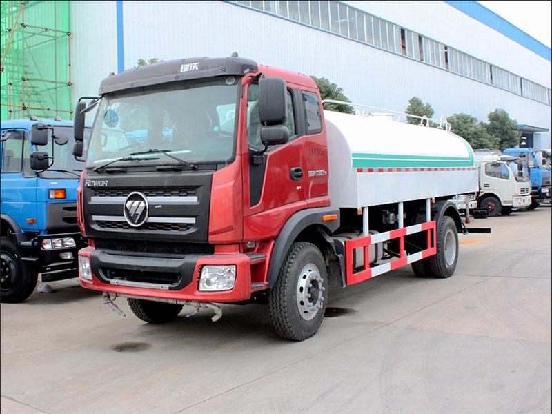 国五福田瑞沃12吨洒水车