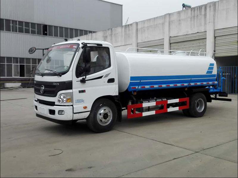 國五福田歐馬可8噸灑水車
