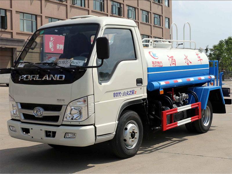 國五福田小卡之星3噸灑水車