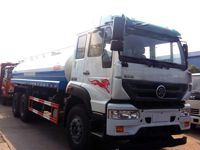 国五重汽斯太尔20吨洒水车