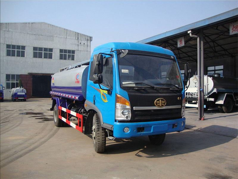 國五12噸解放J5灑水車