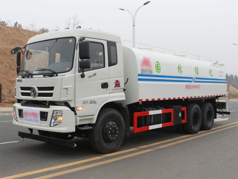国五东风御龙18吨洒水车