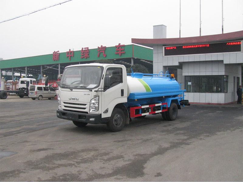 国五江铃凯锐6吨洒水车