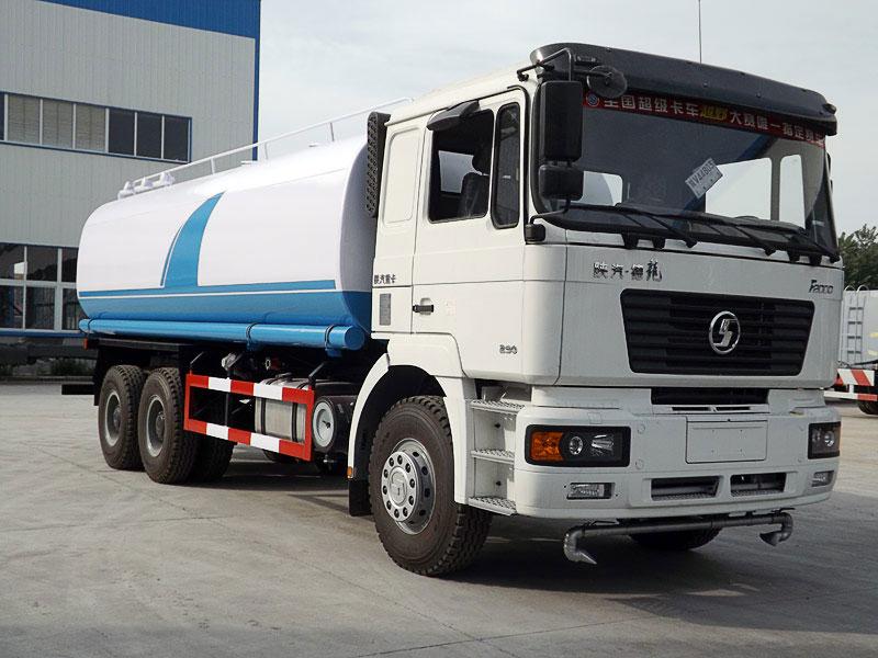 国五陕汽德龙15吨洒水车