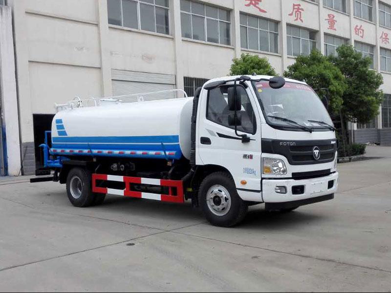 国五福田欧马可11吨洒水车实拍图片