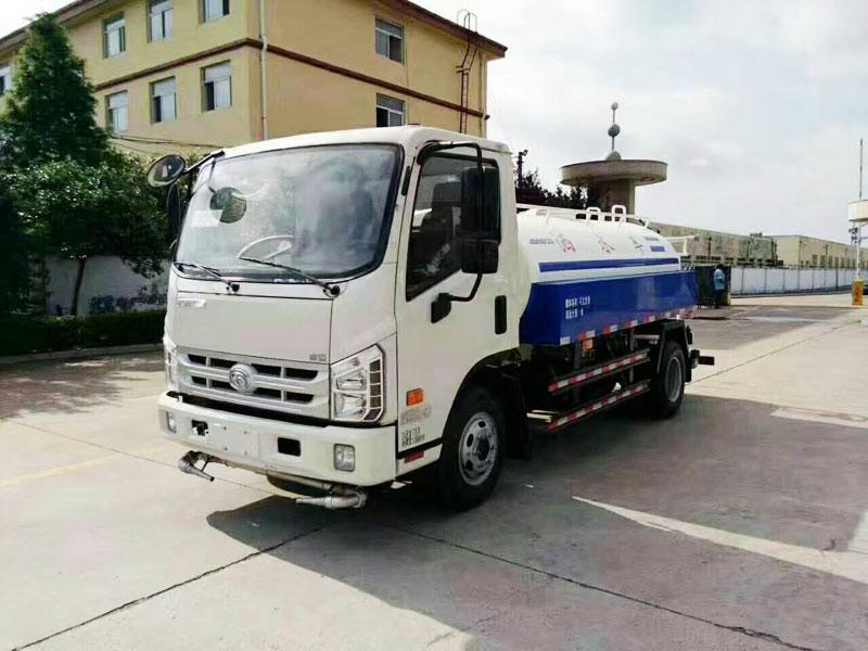 国五福田康瑞5吨洒水车