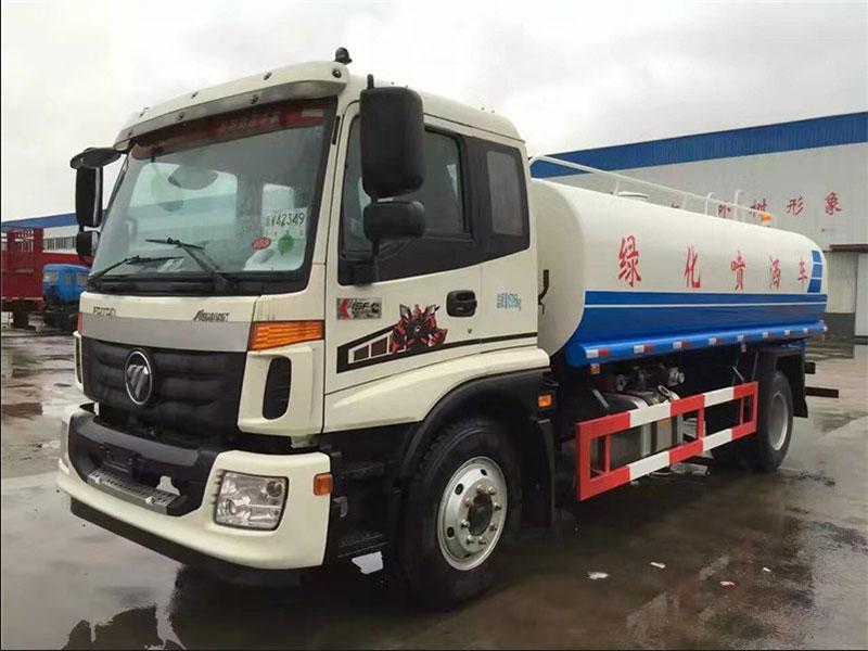 国五福田欧曼13吨洒水车