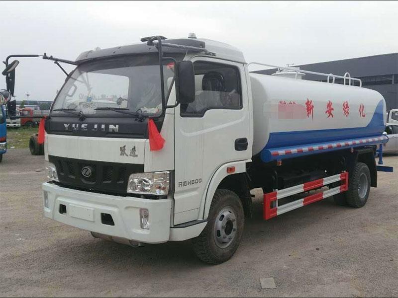 國五躍進6噸灑水車