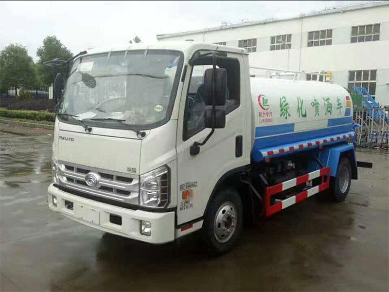 國五福田康瑞2噸灑水車