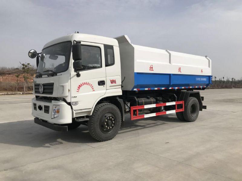 东风专底12方挂桶式垃圾车