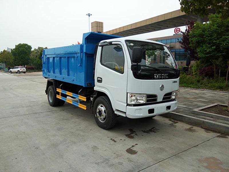 东风福瑞卡5方自卸式垃圾车