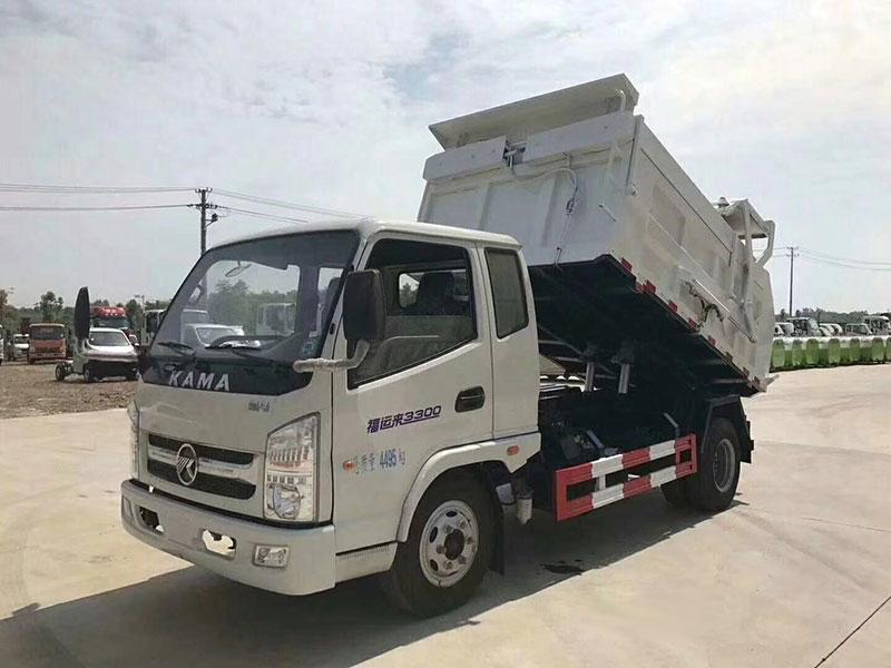 凯马福运来8方自卸式垃圾车
