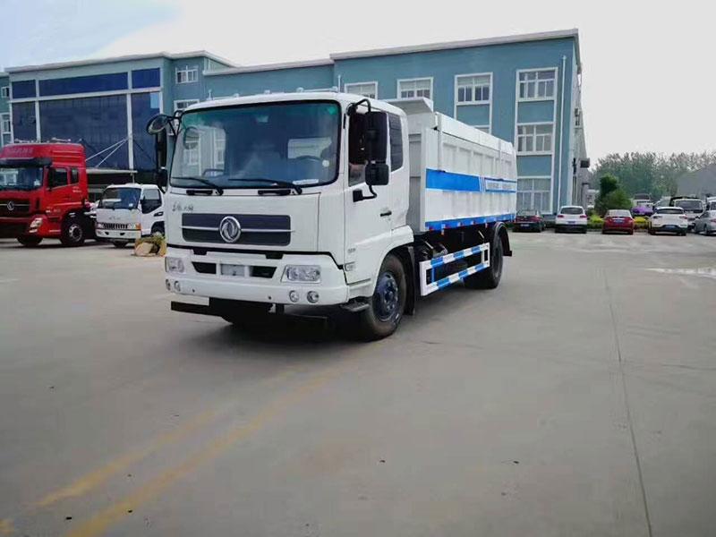 东风天锦12方自卸式垃圾车