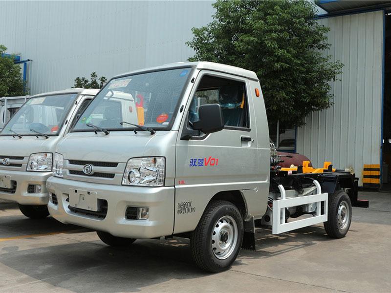 福田馭菱2方勾臂式垃圾車