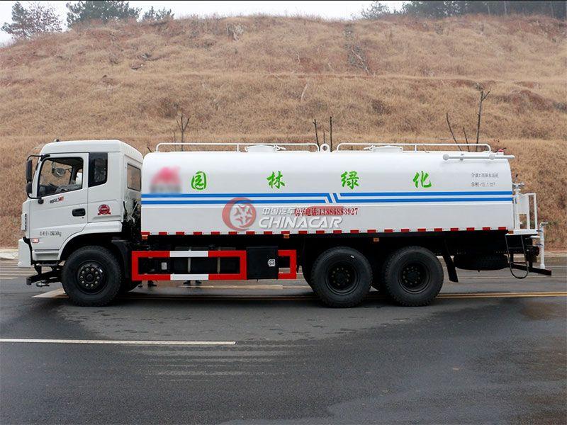 国五东风御龙20吨洒水车实拍图片