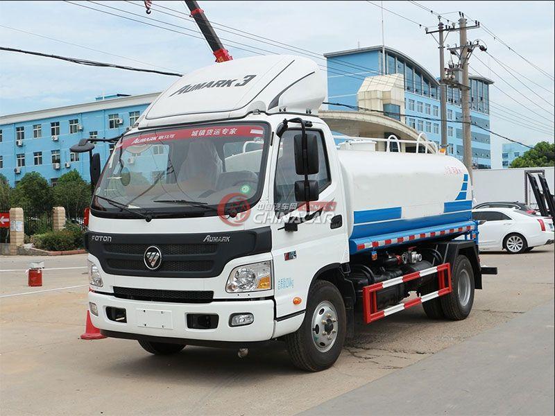 国五福田欧马可6吨洒水车