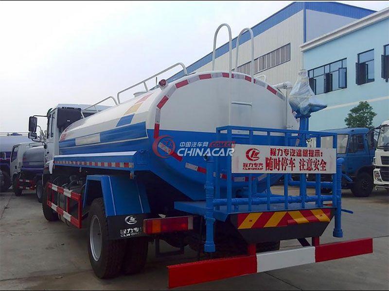 国五重汽斯太尔12吨洒水车实拍图片