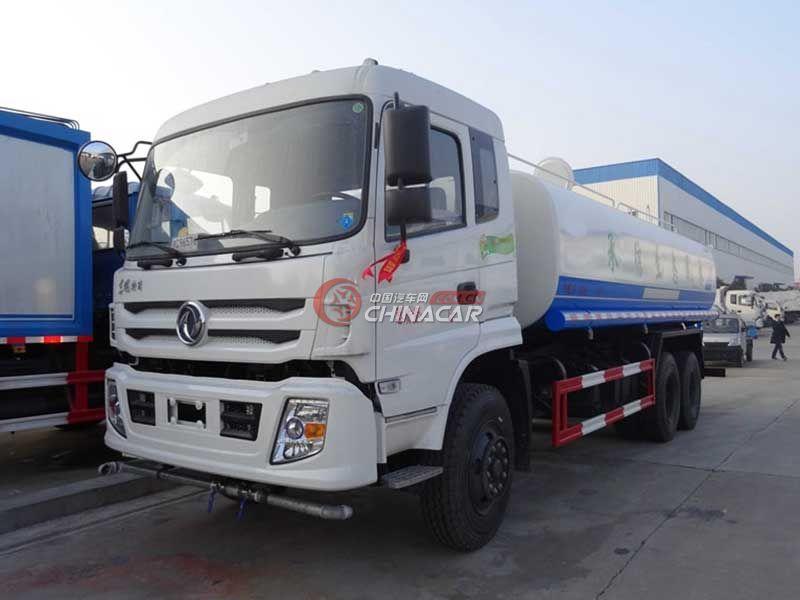 国五东风特商8吨洒水车实拍图片