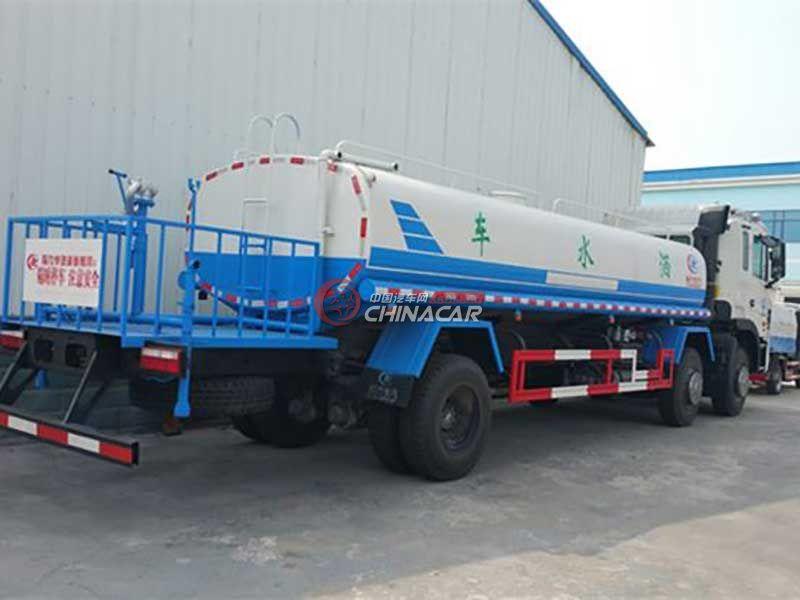 国五江淮格尔发10吨洒水车实拍图片
