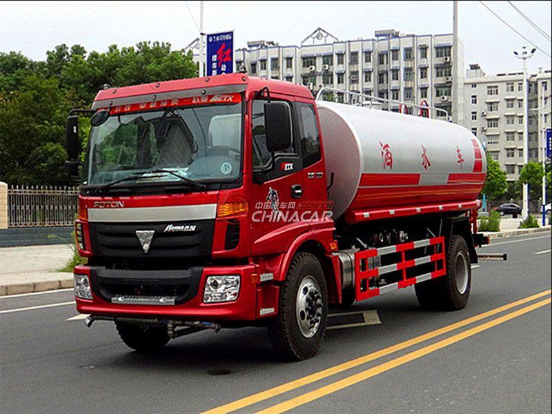 国五福田欧曼20吨洒水车实拍图片