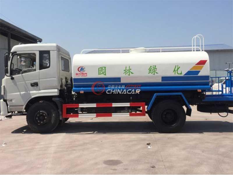 国五东风特商10吨洒水车实拍图片