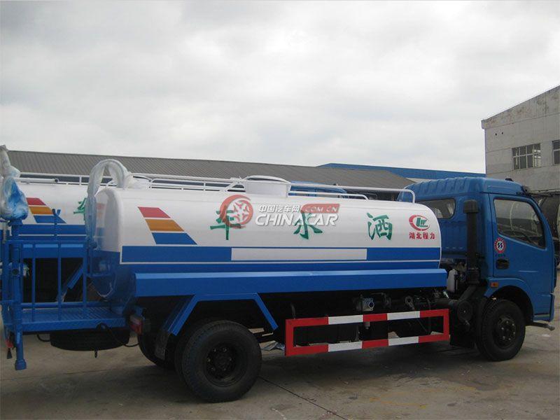 国五12吨解放J5洒水车实拍图片