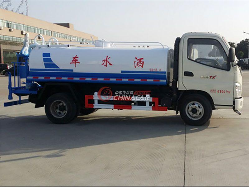 国五福田奥铃5吨洒水车实拍图片