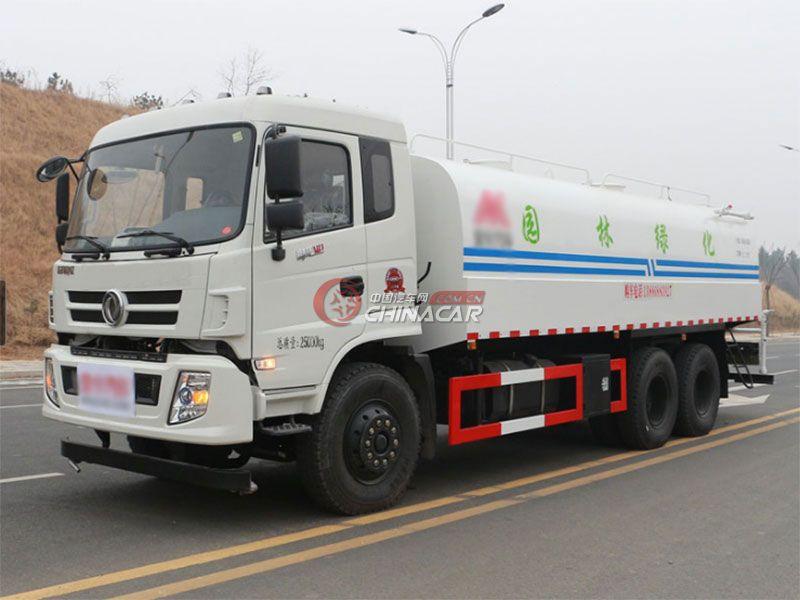 国五东风御龙18吨洒水车实拍图片