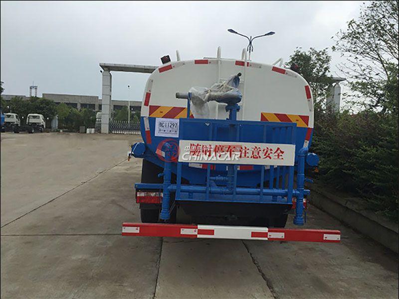 國五東風凱普特8噸灑水車實拍圖片