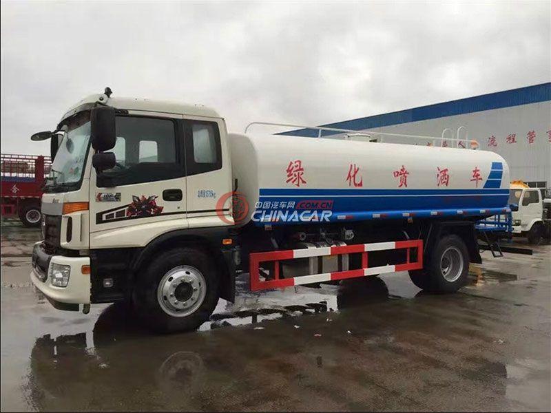 国五福田欧曼15吨洒水车实拍图片
