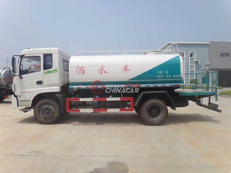 国五东风特商9吨洒水车实拍图片
