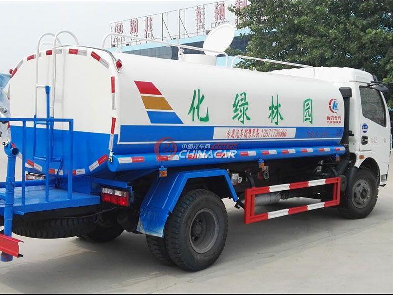 国五东风凯普特6吨洒水车实拍图片