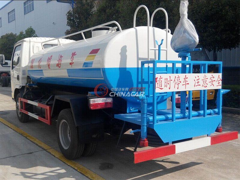 国五东风锐铃4吨洒水车实拍图片