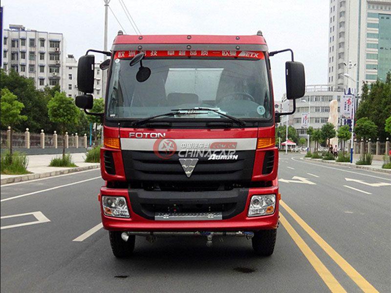 国五福田欧曼19吨洒水车实拍图片