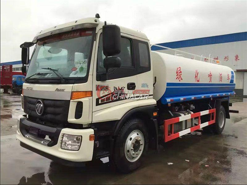 国五福田欧曼12吨洒水车实拍图片