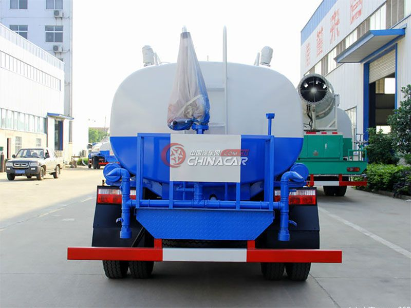 国五陕汽轩德9吨 洒水车实拍图片