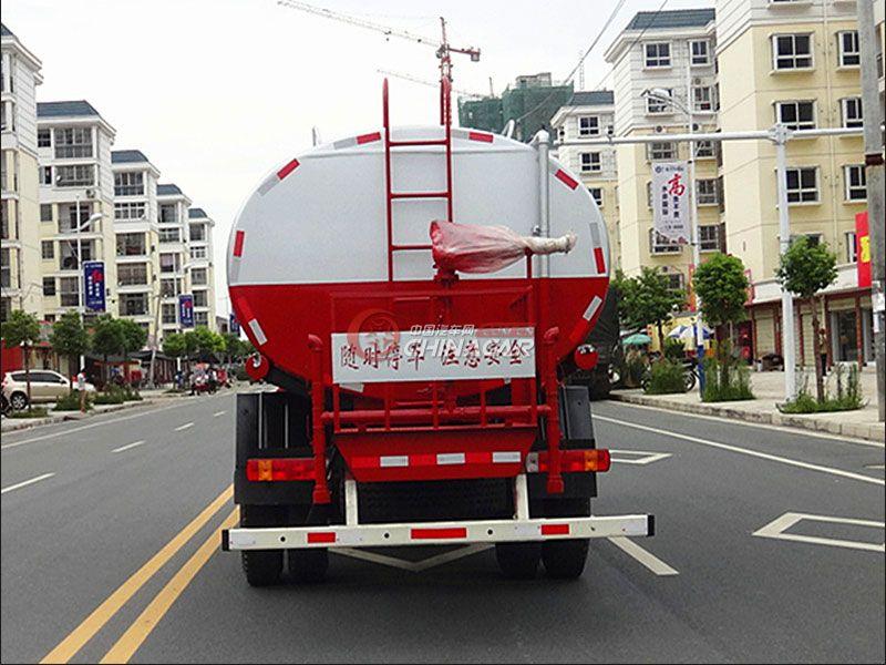 国五福田欧曼18吨洒水车实拍图片