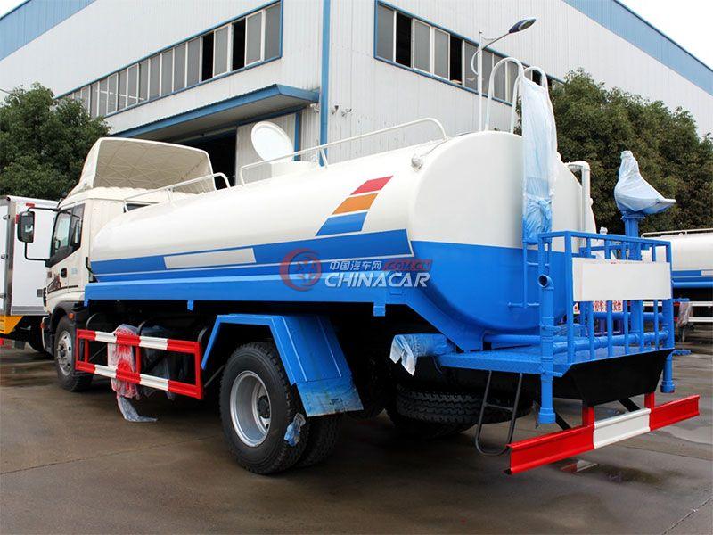 国五福田欧马可10吨洒水车实拍图片