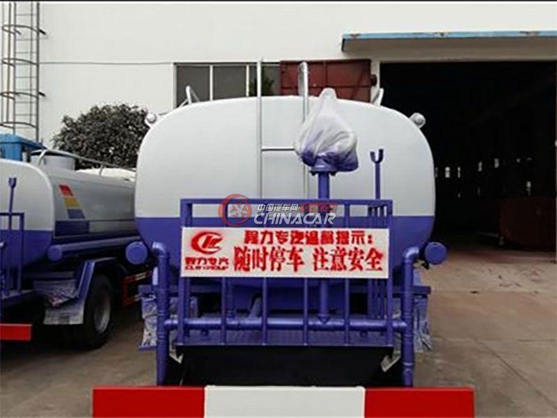 国五江淮骏铃7吨洒水车实拍图片