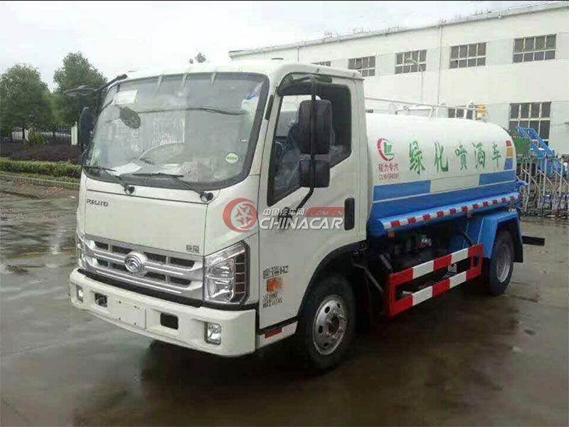 国五福田康瑞5吨洒水车实拍图片