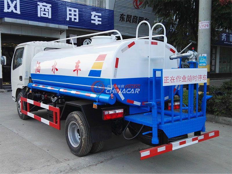 国五东风福瑞卡4吨洒水车实拍图片