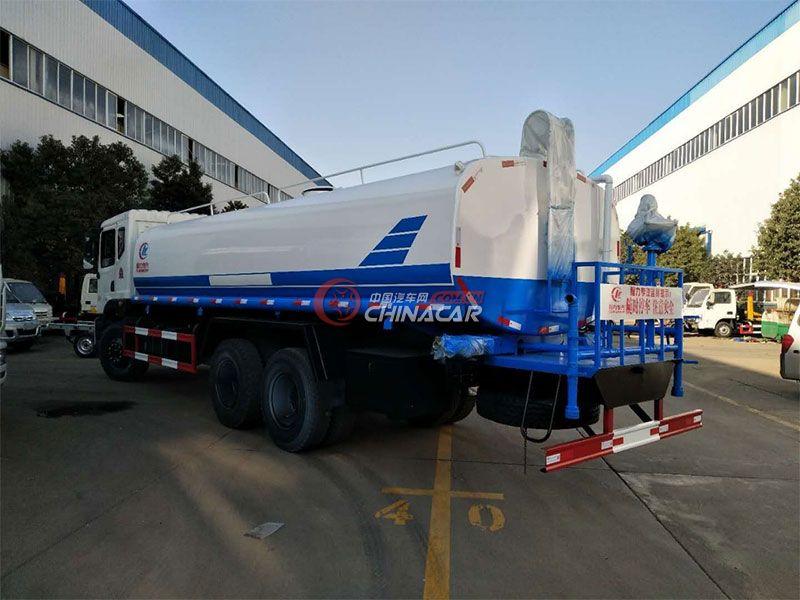 国五20吨东风御虎T5洒水车实拍图片